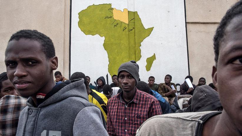 EU-Afrika-Gipfel: Flüchtlinge im November 2017 in Tripolis