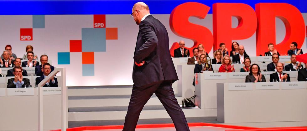 Martin Schulz SPD Parteitag Union