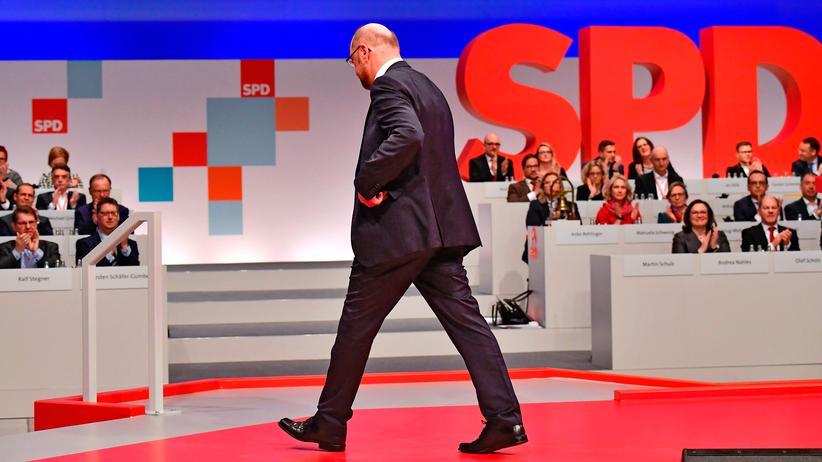 SPD: Martin Schulz auf dem Parteitag der SPD in Berlin