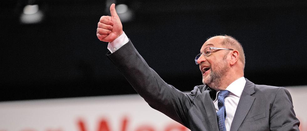 Martin Schulz SPD Parteitag