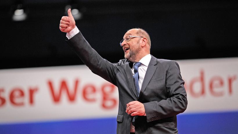 SPD: Martin Schulz auf dem Parteitag der SPD
