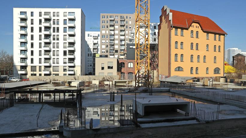 Landgericht Berlin: Die Baustelle eines Wohnhauses in Berlin