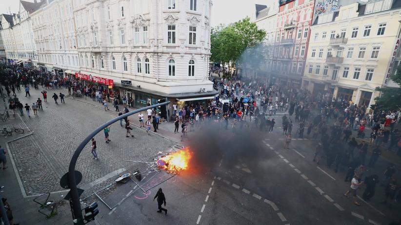 G20-Proteste: Bundesweite Razzien wegen G20-Ausschreitungen
