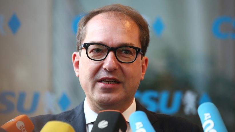 CSU-Landesgruppenchef Alexander Dobrindt will eine härtere Asylpolitik.