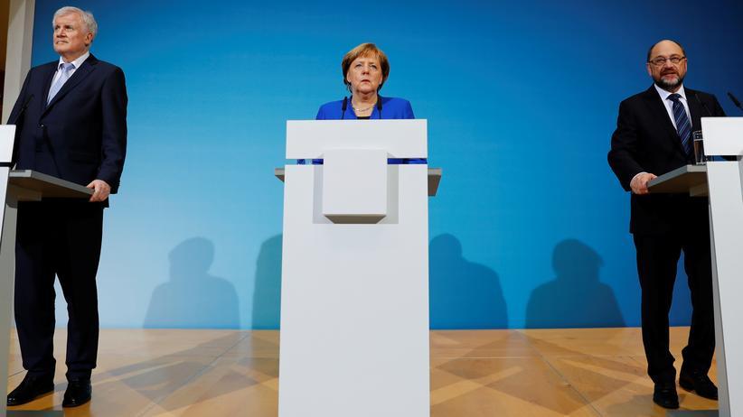Sondierungsgespräche: Union und SPD schwächen Klimaformulierungen ab