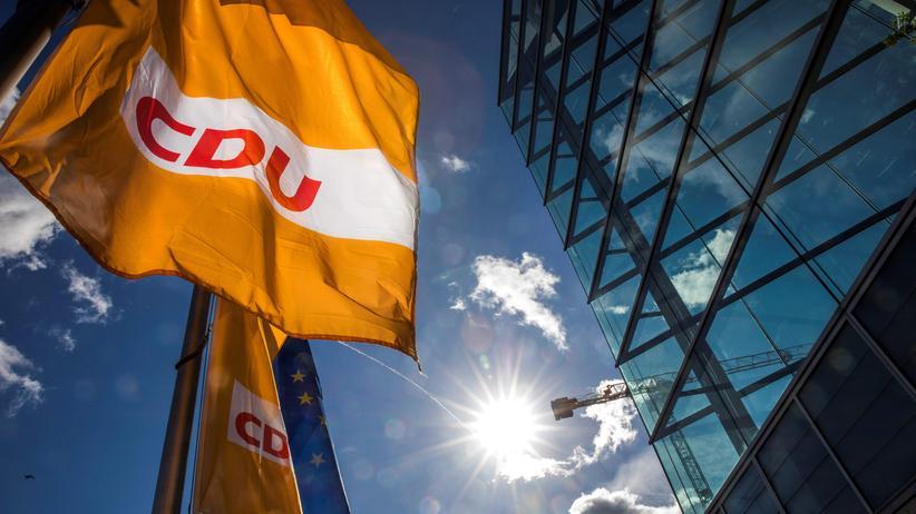 Sondierungen: Das Konrad-Adenauer-Haus, die Bundesgeschäftsstelle der CDU, in Berlin