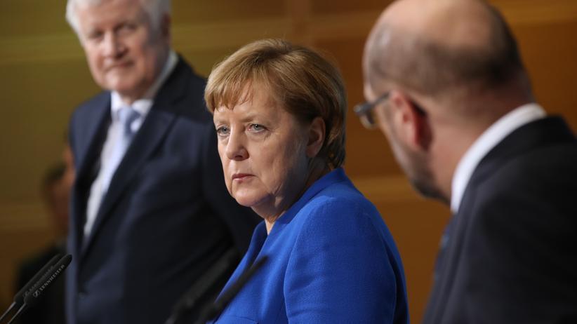 Große Koalition: Auf dem Weg in eine neue Regierung