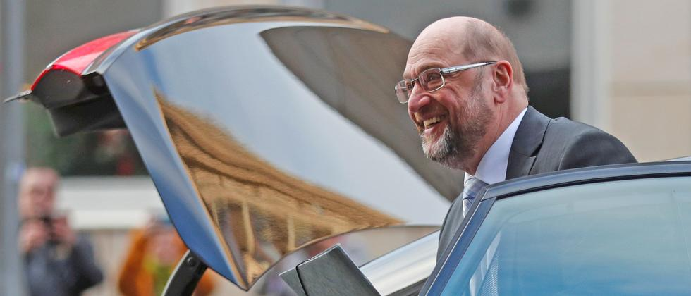 Martin Schulz SPD CDU CSU Sondierungsgespräche