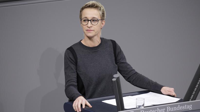 Alternative für Deutschland: Die CDU-Abgeordnete und Vizefraktionsvorsitzende Nadine Schön im Bundestag
