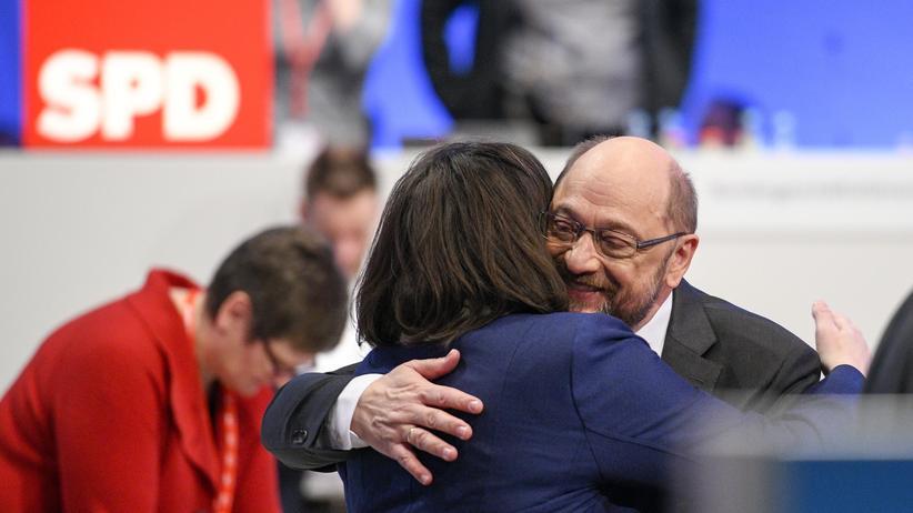 SPD-Parteitag: Bereit zu Koalitionsverhandlungen