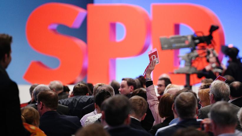 Parteitag der SPD: Die SPD darf Koalitionsverhandlungen mit der Union führen, das hat der Parteitag beschlossen.