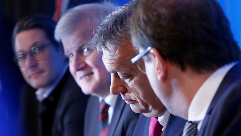 """CSU-Klausur: """"Viktor Orbán steht zweifelsfrei auf rechtsstaatlichem Boden"""""""