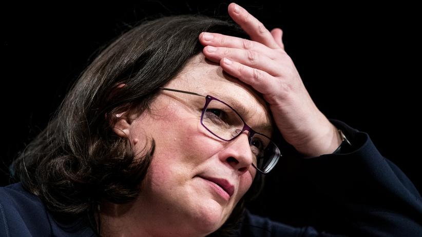 Andrea Nahles: Die neue Parteichefin der SPD?