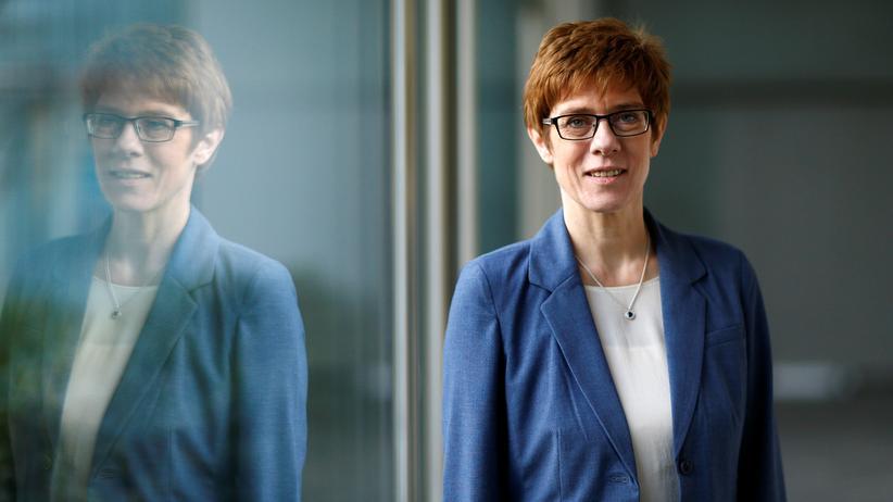 CDU: Annegret Kramp-Karrenbauer
