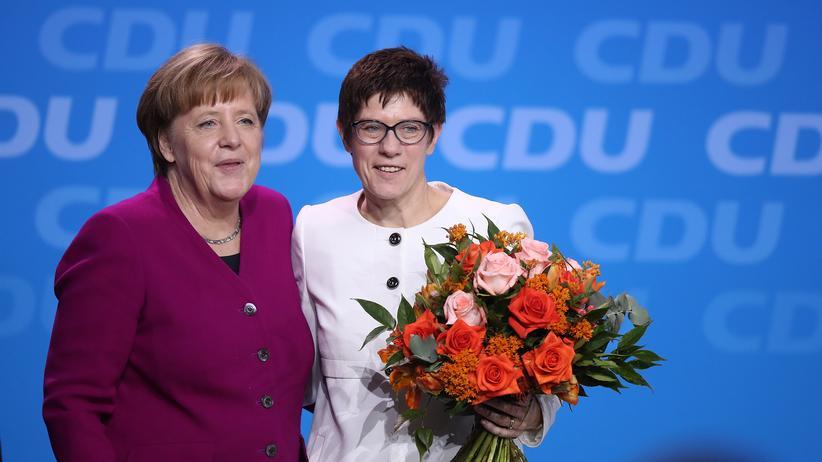CDU: Annegret Kramp-Karrenbauer zur Generalsekretärin gewählt