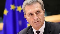 EU-Haushalt: Oettinger fordert drei Milliarden mehr von Deutschland