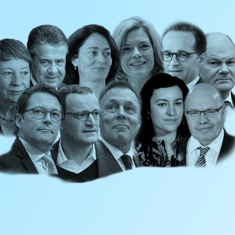 Große Koalition: Das neue Team Merkel