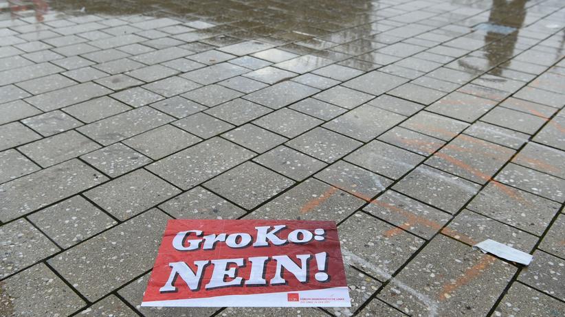 Große Koalition: Nicht wenige SPD-Mitglieder fürchten, dass eine erneute große Koalition ihrer Partei schadet.