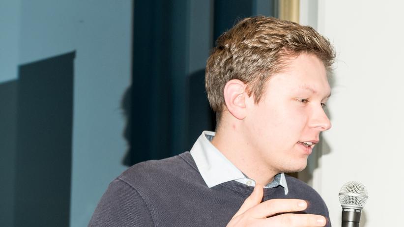 Junge Union Berlin:  Christopher Lawniczak, 22, ist seit Ende 2010 in der Jungen Union und mittlerweile stellvertretender Landesvorsitzender, Pressesprecher und Vorsitzender der JU Tempelhof-Schöneberg.