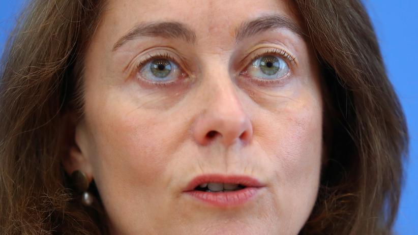 SPD: Katarina Barley scherzt über sich als mögliche Außenministerin
