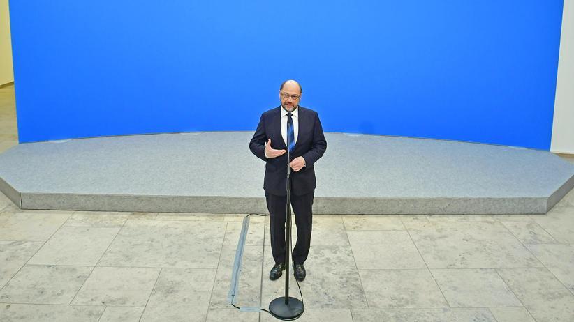 Martin Schulz: Schuld ist in der SPD immer der Chef