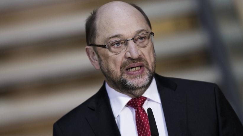 Presseschau: Martin Schulz, als er noch dachte, er würde Außenminister