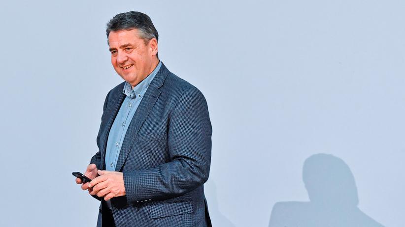 Sozialdemokratische Partei Deutschlands: Der amtierende Außenminister Sigmar Gabriel