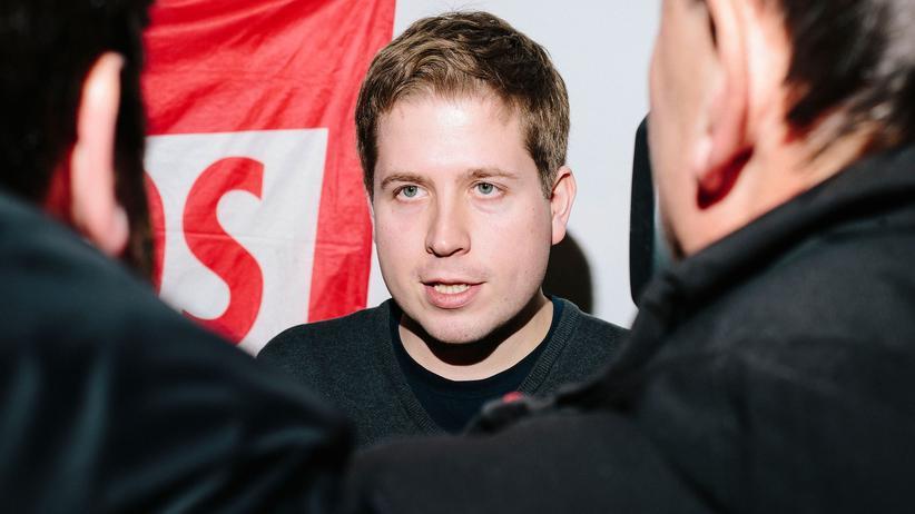 SPD: Der Juso-Bundesvorsitzende Kevin Kühnert in Leipzig am 10. Februar