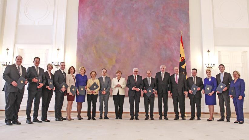 Bundesregierung: Das neue Kabinett