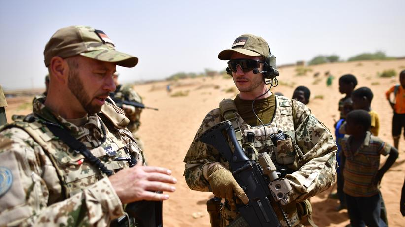 Bundeswehr: Soldaten der Bundeswehr in Gao, Mali