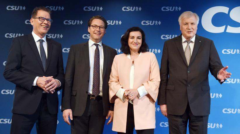Große Koalition: CSU stellt drei Minister und eine Staatsministerin