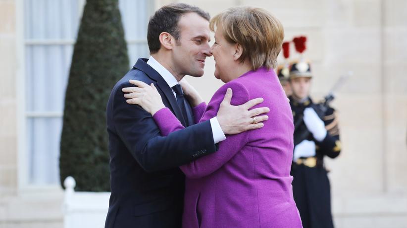 """Merkel bei Macron: """"Wir sind bereit"""""""