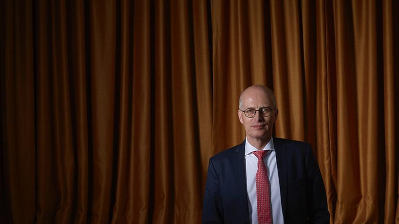 Peter Tschentscher: Sein Auftritt