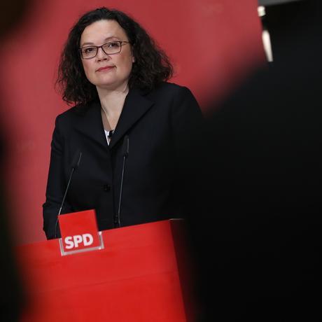 Andrea Nahles: Die neue Parteichefin der SPD