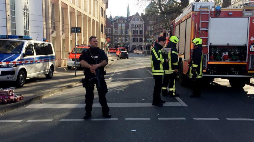 Münster: Keine Hinweise auf islamistischen Hintergrund