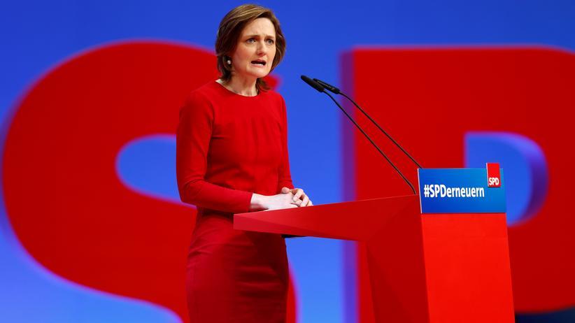 """SPD-Parteivorsitz: """"Mich zu wählen, bedeutet Mut"""""""
