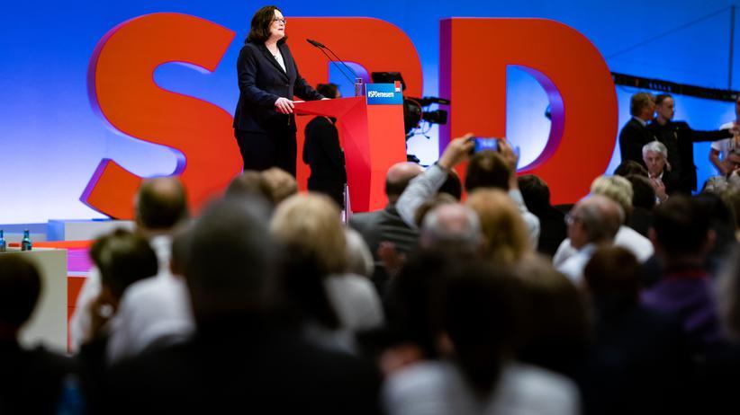 Andrea Nahles: Die 66-Prozent-Vorsitzende