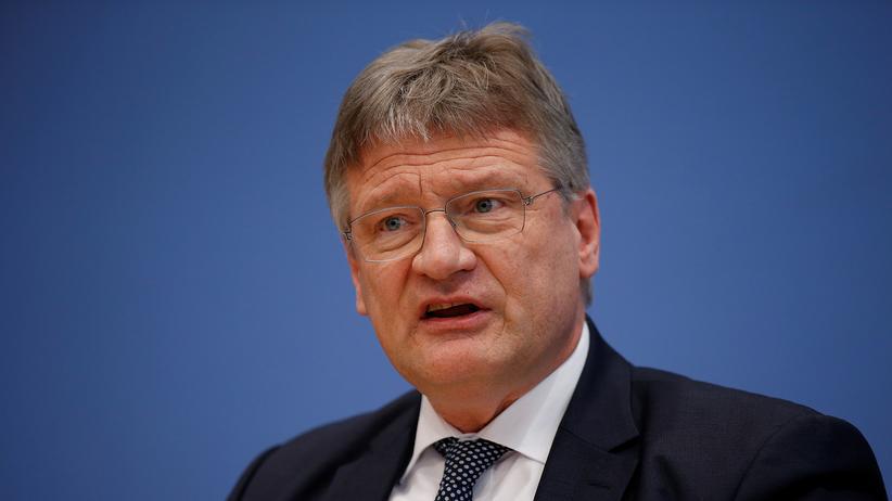 Christian Lindner: Der AfD-Vorsitzende Jörg Meuthen wünscht sich, dass Christian Lindner aus den Rassismus-Vorwürfen lernt.