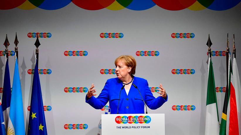 Steuerreform: Bundeskanzlerin Angela Merkel in Berlin