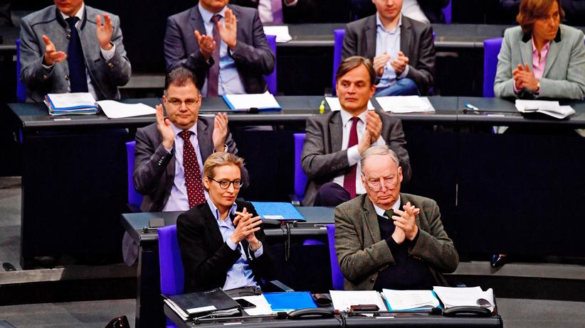 AfD-Fraktion: Rechts bis extrem im Bundestag