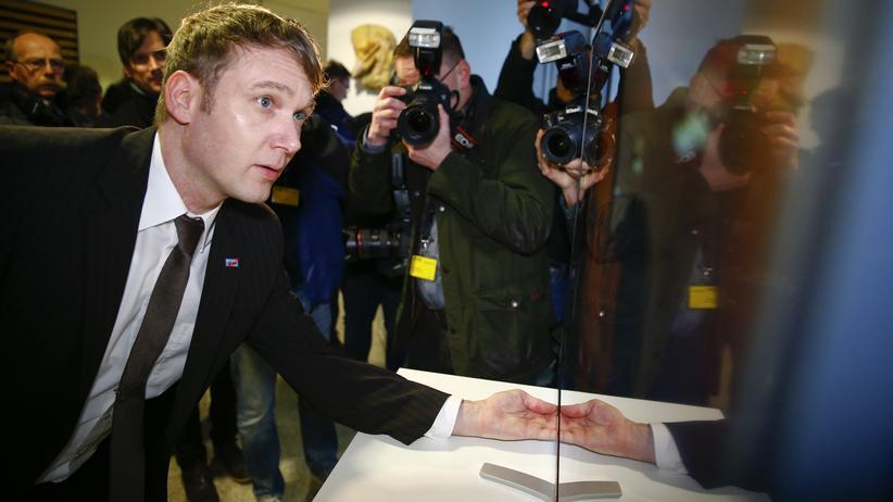 AfD: André Poggenburg im März im Landtag in Magdeburg
