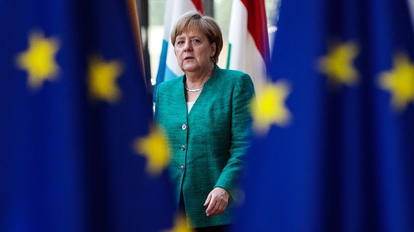 EU-Beschlüsse: Bundeskanzlerin Angela Merkel beim EU-Gipfel in Brüssel