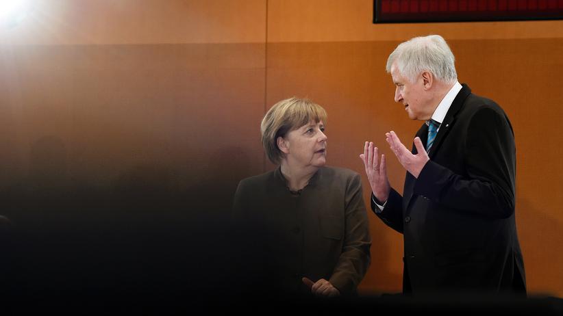 Masterplan Migration: Kanzlerin Angela Merkel und CSU-Chef Horst Seehofer im Jahr 2015