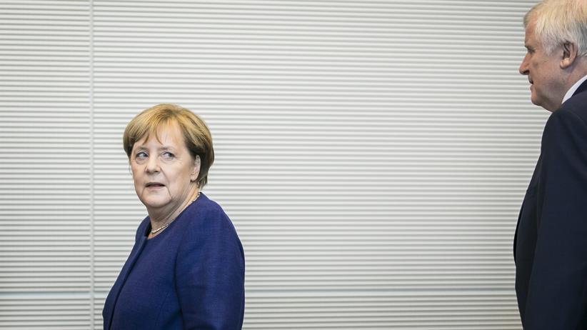 Unionsstreit : CDU und CSU vertagen Asylstreit auf Anfang Juli