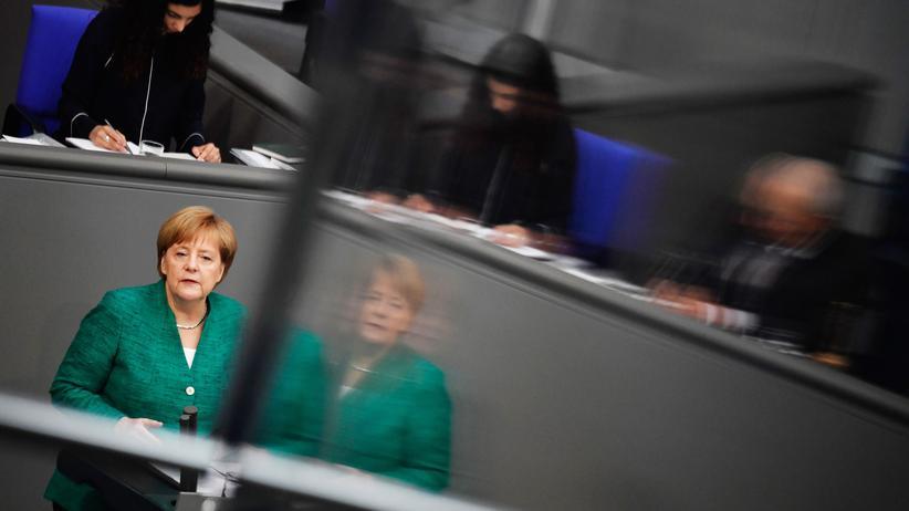Angela Merkel: Kanzlerin sieht Migration als mögliche Schicksalsfrage der EU