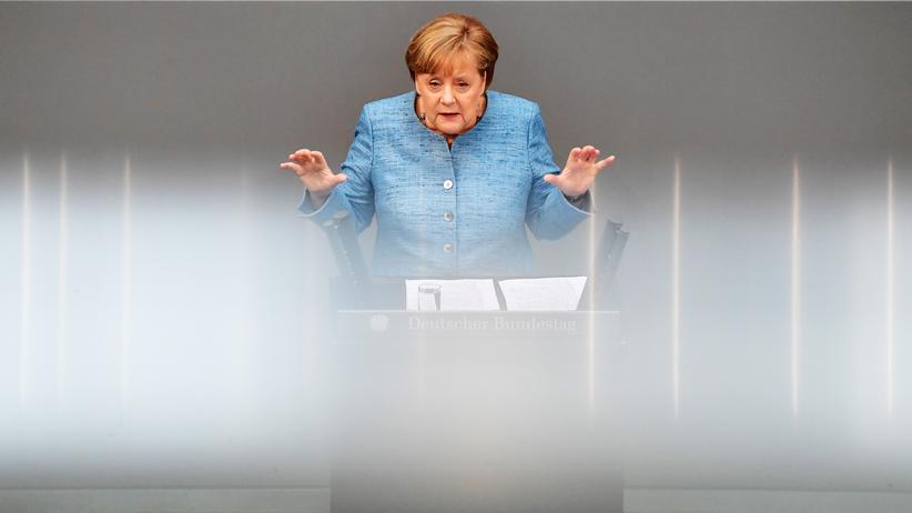 Bundeskanzlerin: Angela Merkel