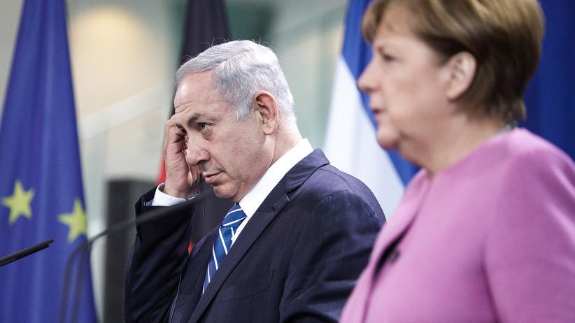Benjamin Netanjahu und Angela Merkel: Kanzlerin Angela Merkel und der israelische Premier Benjamin Netanjahu