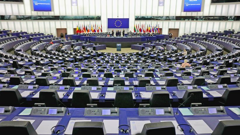 Kleinstparteien: Der Tagungssaal des Europäischen Parlaments in Straßburg