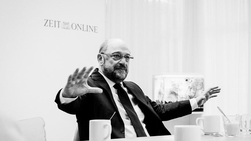 Martin Schulz: Martin Schulz zu Gast bei ZEIT ONLINE