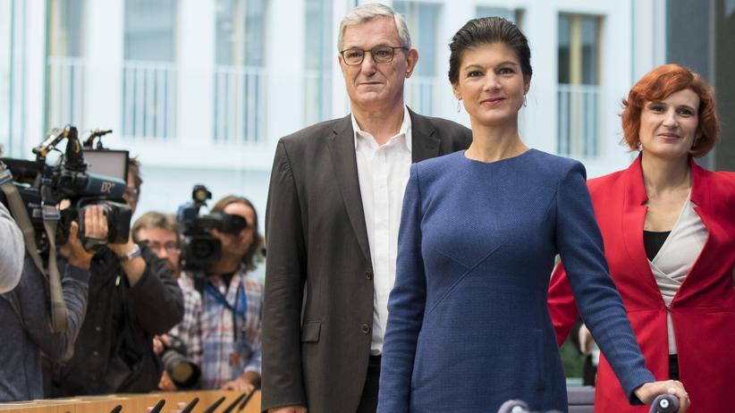 Linken-Parteitag: Der Parteitag soll den Streit zwischen Katja Kipping und Bernd Riexinger auf der einen und Sahra Wagenknecht auf der anderen Seite schlichten.